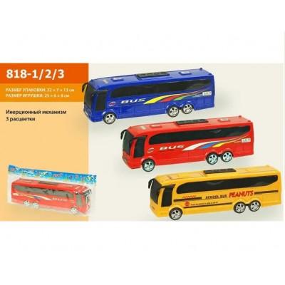 """Автобус """"Бусик-СОРТЕР №3""""с ведр,лоп,граб,3пасоч.  0268"""