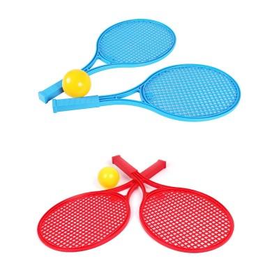 Теннис наст (2ракетки+мяч) больш. Технок 2957