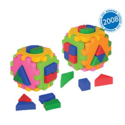 "Куб ""Умный малыш"" Логика комби 2476"
