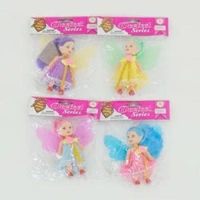 Кукла с аксесс 4вида в пакете 23см D18009/15