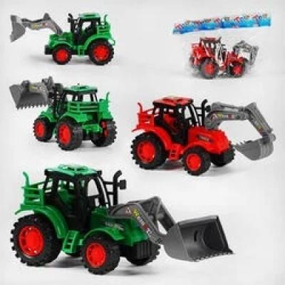 Трактор инерц. с приц, в пакете 10*7*7см 50035Н-3А