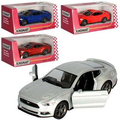 """Машина мет.""""Kinsmart"""" Ford Mustang в кор.16*8*7см KT5091WP"""
