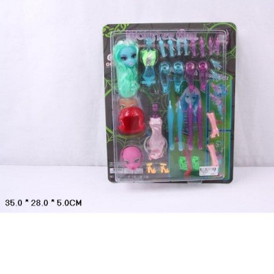 "Кукла ""Monster High"" 2шт.собрая,планш. 35*28*5см OLT2870А-2"