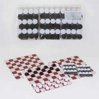 Шашки (цена за 3 набора) БАМСИК 32*16см  034
