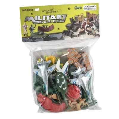 Набор военн.(солдатики,транспорт) в пакете 2010В4