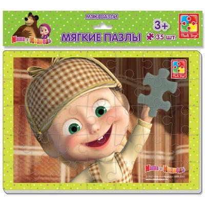 Игр.набор Пазлы А4 Маша и медведь 4вида  VT1102-05/06/07