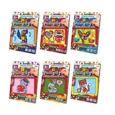 "Набор д/тв. ""Baby Paillette""глітер+пайетка PG-01 Данко"