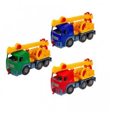 Машина БАМСИК Алекс с кубиками мал12шт  088