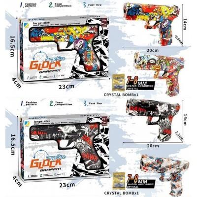 Пистолет-трещатка в пакете 38*17см 168-13