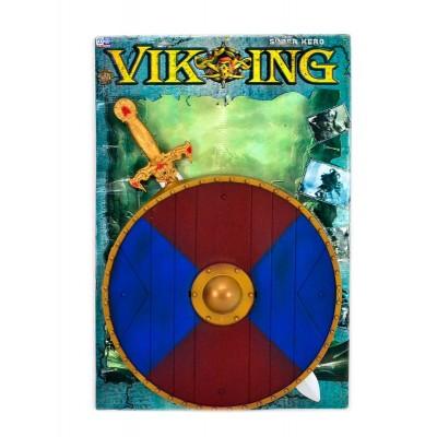 Набор рыцар.(меч,щит,знамя)пакет 6881/466-873