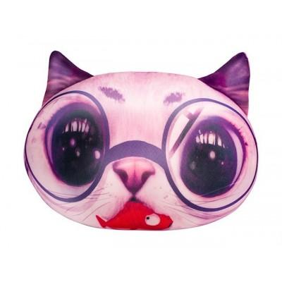 Антистр.мягкая игр. Кіт рожевий DT-ST-01-03