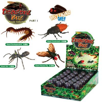 Животные рез. насекомые в колбе 10см 5866