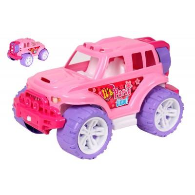 Машина Внедорожник Luxury розовый 36*23*20см 4609