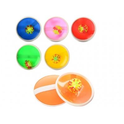 Игра-ловушка микс (.мяч, две тарелки) 15см М2872