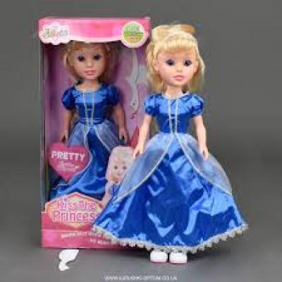 Кукла Принцесса с расческ, в кор.43*18*14см LM 2018