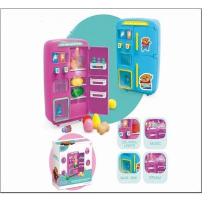 БТ Холодильник бат,пар,свет,звук,кор.29*28*13см QC-8В