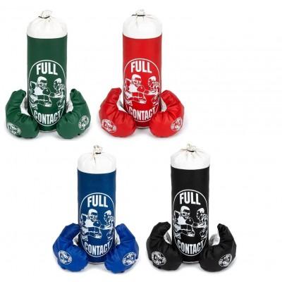 Бокс.перчатки 6 унций кож/зам TM JAB