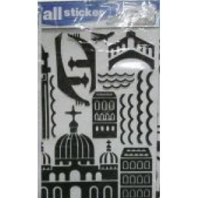 Декор 3Д наклейка фомовая обьемна для стены,  50*70см 11848