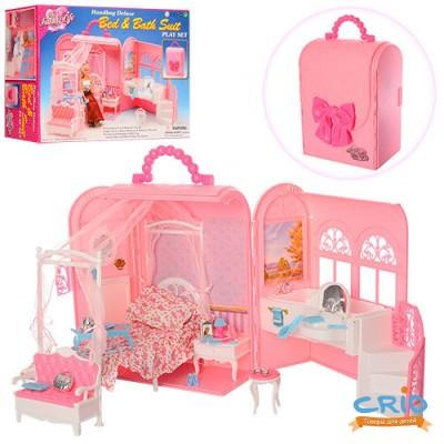 Мебель Gloria для спальни с ванной, в кор.36*26см 9988