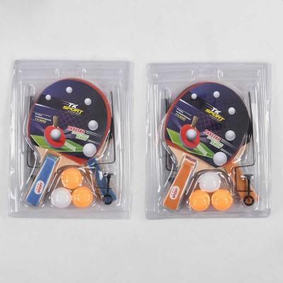 Теннис наст.(2ракет,3мяч)  в слюде 25*15см  РР0105