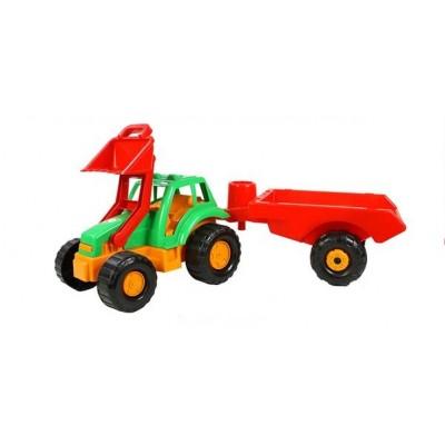 Трактор с ковшом и прицепом ОРИОН   993