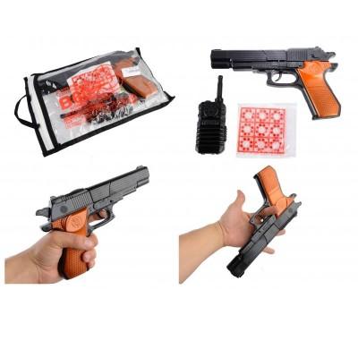 Пистолет с пульк.,утяжеленный,в кор.26*15см 098А