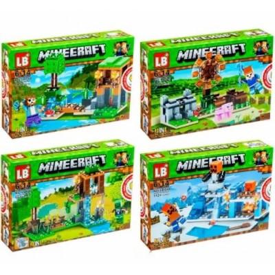 "Констр. LELE ""Minecraft"" (цена за 1шт) 362#1-8"