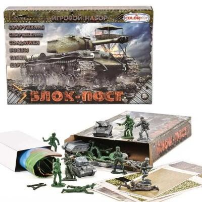 Набор военн.(маш,солд,оруж)в пакете   J 5011