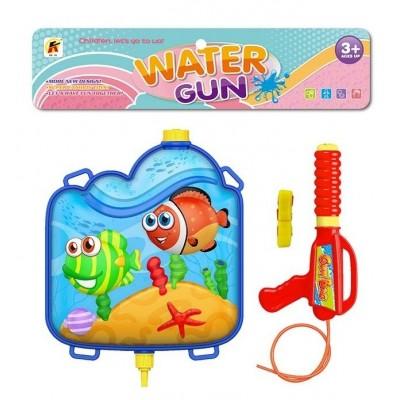 Водяной пистолет ,пакет 18*11*4см 3305
