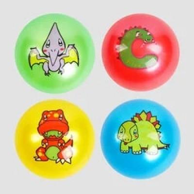 Мяч резин. ассорти мордочки  №9  60гр В24825