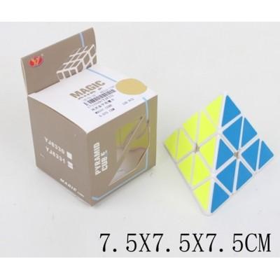 Кубик-рубик Пирамида,в кор. 7,1*7,1*7,1см  EQY 512