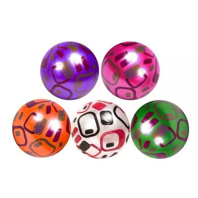 Мяч резин. ассорти алфавит англ 22см 60гр YW1882