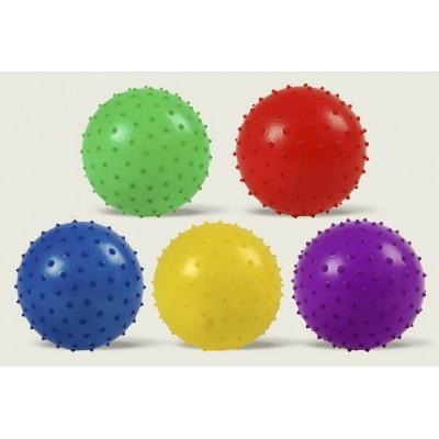 Мяч с шипами резин. 10см 20гр МВ0102
