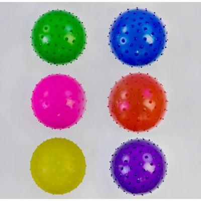 Мяч с шипами резин. 16см 35гр МВ0105