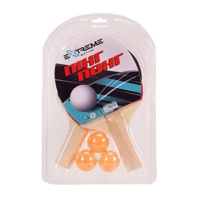 Теннис наст.(2ракет,3мяч,сетка) слюд. C 34430