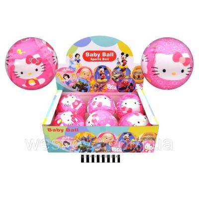 Мяч обянутый тканью, 15см Hello Kitty  V06021