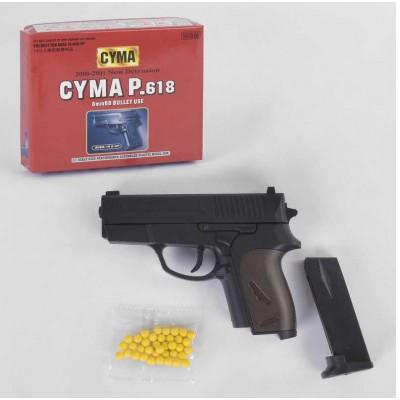 Пистолет бат. свет, звук, (цена за 1шт!!)  8029