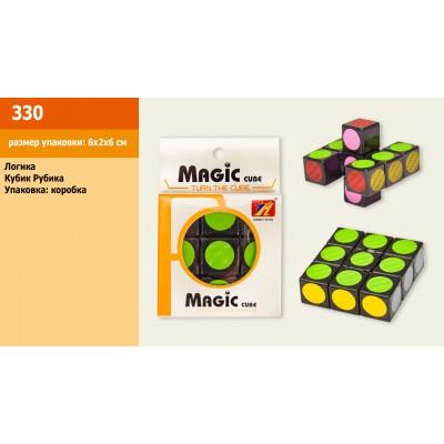 Кубик-рубик 2*3, в пакете 7*7*10см 590