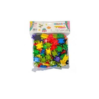 Констр.пластик.Яркие Трубочки HL6330В