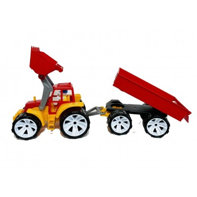 Трактор з причепом Тигрес 39215