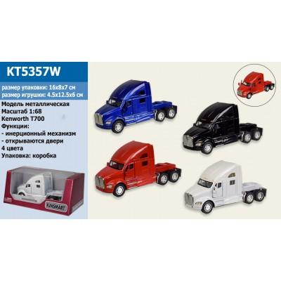 """Машина мет.""""Kinsmart"""" Kenworth T700,ко16*8*7см KT5357W"""