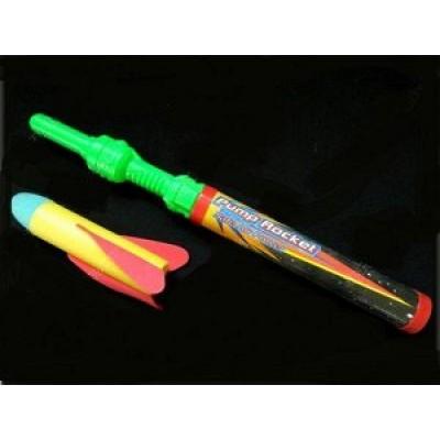 Помповое оружие-ракета светодиоидная, в пакете 46см   5264