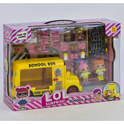 """Кукла """"Lоl"""" + домик, в кор 10,5*7,5*10см КХ567Н"""