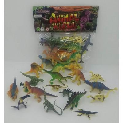 Животные динозавров в пакете RN 532-6