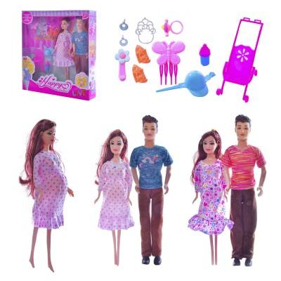 "Кукла типа ""Барби""""Defa Lucy"" беремен,2пупс,одежд, 29см 8009"