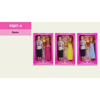 "Кукла типа ""Барби""""Defa Lucy"" бальное платье, кор.32см  8402"
