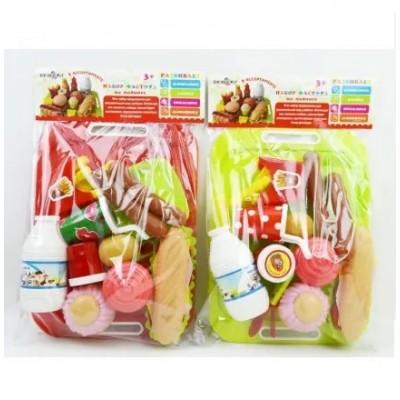 Набор продуктов на липучках, в пакете 19*32*6см 5020А-17