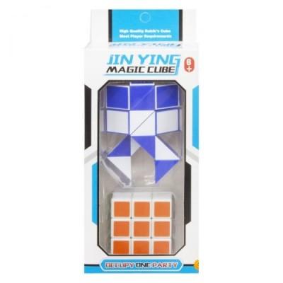 Кубик-рубик 1*3, в пакете 5,5*2*5,5см 6606