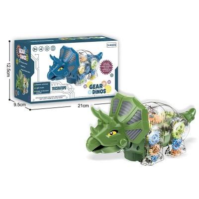 Динозавр бат., в кор. 25*10*14см  3301