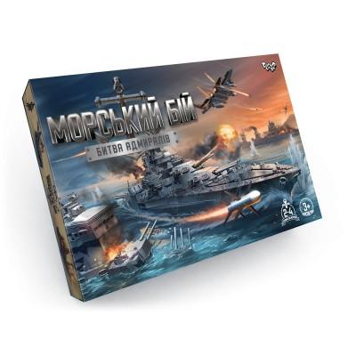 Игра Морской бой пласт-металл, в кор  1234/ср0090101015